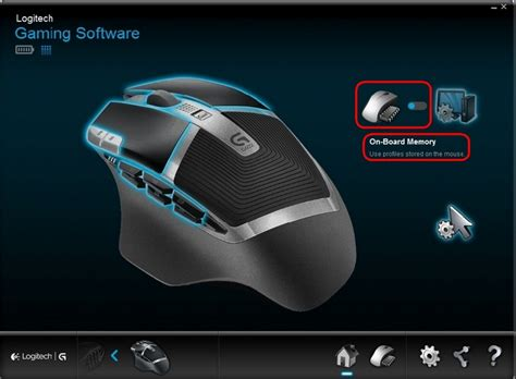 Configure G602 pointer settings with Logitech Gaming Software