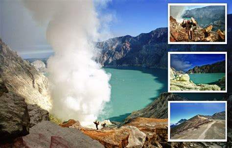 Find The Great Volcanic View At Ijen Crater Tourism