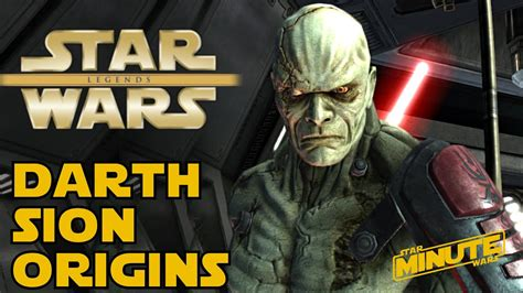 The Legend of Darth Sion - Star Wars Explained - YouTube